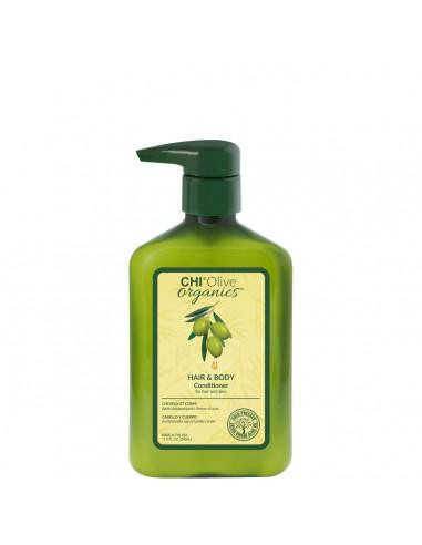 Après-shampooing Cheveux Corps CHI Olive Organics