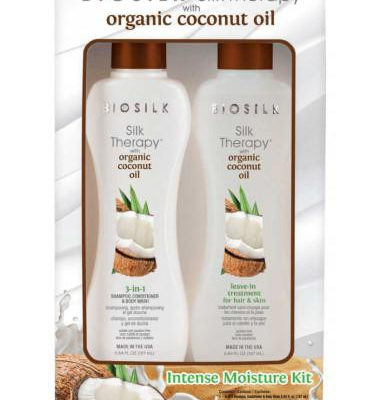 BioSilk Silk Therapy Organic Coconut Oil Kit